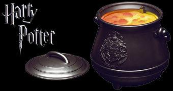 Luminária Harry Potter Caldeirão de Bruxo