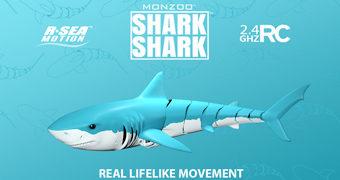 Tubarão Shark Shark com Controle Remoto e Movimentos Realistas (McFarlane Toys)
