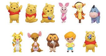 Mini-Figuras Ursinho Pooh e Amigos 3D Figural Bag Clip