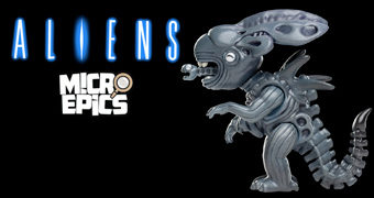 Mini-Figura Rainha Alien Micro Epics da Weta (Aliens de James Cameron)