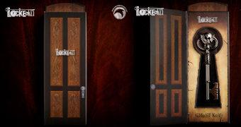 Réplica da Chave Fantasma (Ghost Key) da Série Locke & Key