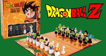 Xadrez Dragon Ball Z – Edição de Colecionador