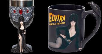 Cálice e Caneca Elvira, a Rainha das Trevas