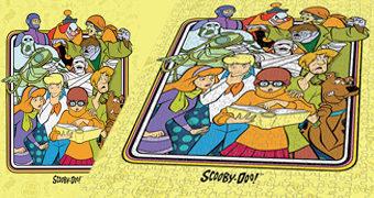 Quebra-Cabeça Scooby-Doo e Monstros