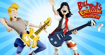 Toony Classics: Bill & Ted Uma Aventura Fantástica (Neca)