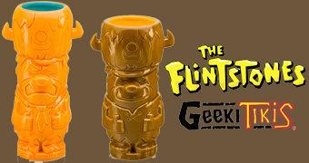 Canecas Geeki Tikis Os Flintstones: Fred e Barney