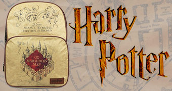 Mochila Harry Potter Mapa do Maroto