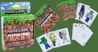 Baralho Minecraft com Cartas Personalizadas