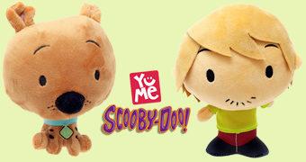 Bonecos de Pelúcia Scooby-Doo e Amigos em Estilo Chibi