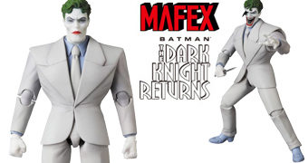 Coringa (The Joker) MAFEX – Action Figure Medicom 1:12 da Graphic Novel Batman: The Dark Knight Returns de Frank Miller