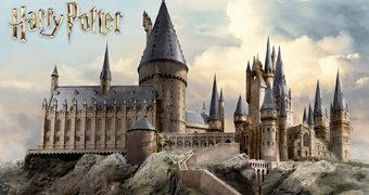Quebra-Cabeça Castelo de Hogwarts com 3.000 Peças e mais de 1m de Largura (Harry Potter)