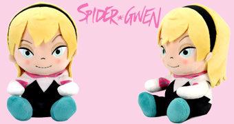 Boneca de Pelúcia Spider-Gwen PHUNNY Kidrobot