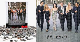 Quebra-Cabeça da Série Friends com 500 Peças