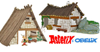 As Casas de Asterix e Obelix – Os Gauleses Irredutíveis (RIP Albert Uderzo)
