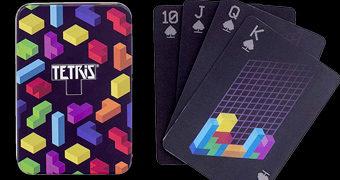 Baralho Tetris com Efeito 3D lenticular