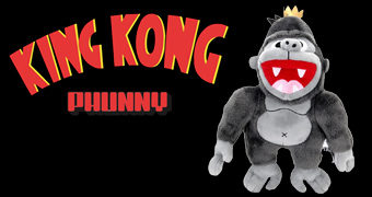 Boneco de Pelúcia King Kong PHUNNY Kidrobot