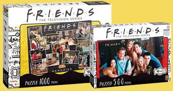 Três Quebra-Cabeças da Série Friends à Venda no Brasil