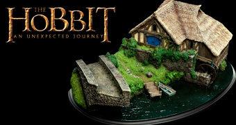Diorama Miniatura do Moinho de Ted Sandyman no Filme O Hobbit: Uma Jornada Inesperada