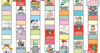 Jogo de Tabuleiro Covid-19 para Ensinar Crianças Sobre os Riscos do Novo Coronavírus – Gratuito para Baixar na Internet