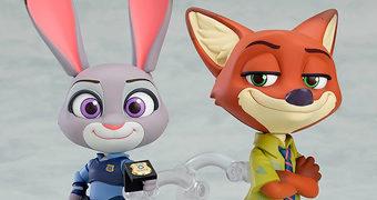 Bonecos Nendoroid Zootopia: Judy Hopps e Nick Wilde