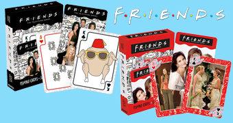 3 Baralhos da Série Friends com os Ícones, as Meninas ou os Rapazes