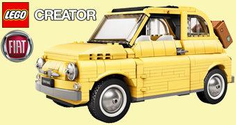 LEGO Fiat 500 (Cinquecento) com 960 Peças