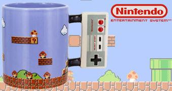 Caneca Nintendo NES Gamepad