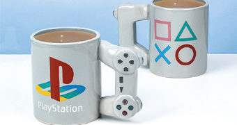 Caneca PlayStation PS One Gamepad