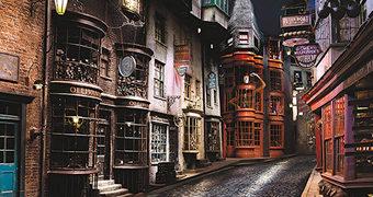 Quebra-Cabeça Harry Potter Beco Diagonal com 1.000 Peças