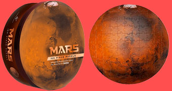 Quebra-Cabeça do Planeta Marte com Fotos da NASA