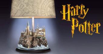 Abajur Harry Potter Castelo de Hogwarts
