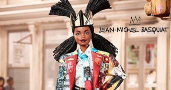 Boneca Barbie em Homenagem ao Artista Jean-Michel Basquiat