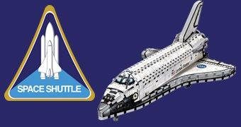 Quebra-Cabeça 3D NASA Space Shuttle (Ônibus Espacial) com 435 Peças