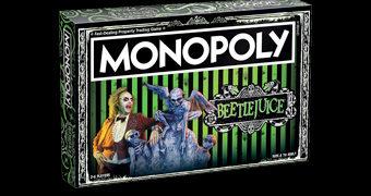 Jogo Monopoly do Filme Beetlejuice Os Fantasmas se Divertem