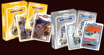 4 Baralhos para o Dia de Star Wars: C-3PO, R2-D2, Yoda e Chewbacca (May the 4th be with You!)
