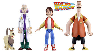 De Volta para o Futuro: A Série Animada Toony Classics (Neca)