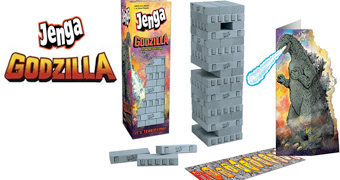 Jogo JENGA Godzilla, o Rei dos Monstros