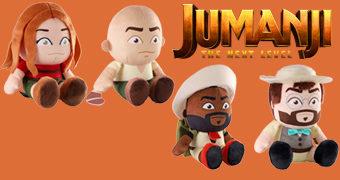 Bonecos de Pelúcia Jumanji – Próxima Fase