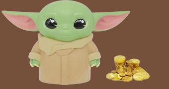 Cofre de Moedas Baby Yoda (Star Wars: The Mandalorian)