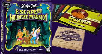Jogo Cooperativo Scooby-Doo Fuga da Mansão Assombrada
