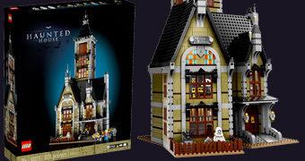 Casa Assombrada LEGO com 3.231 Peças