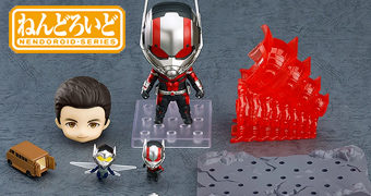 Boneco Nendoroid Homem-Formiga Vingadores: Ultimato