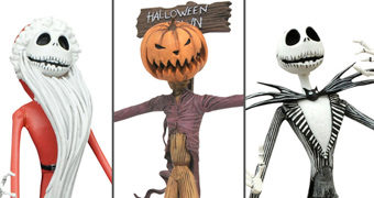 """Jobs of Jack Skellington"" Action Figures Nightmare Before Christmas Select Line"