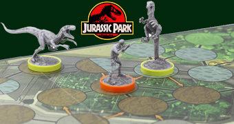 Jogo de Miniaturas Unmatched Jurassic Park – InGen vs. Raptors