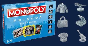 Jogo Monopoly da Série Friends