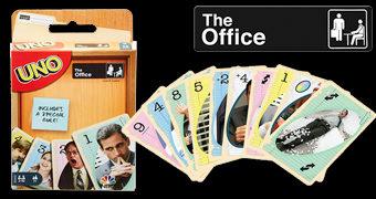 Jogo de Cartas UNO The Office