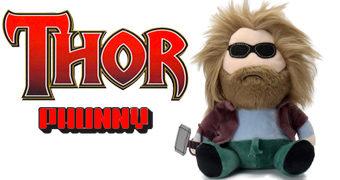 Bro Thor PHUNNY Barrigudo e Cabeludo – Boneco de Pelúcia Kidrobot