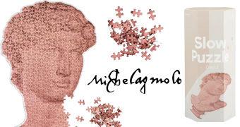 Quebra-Cabeça David de Michelangelo com 500 Peças