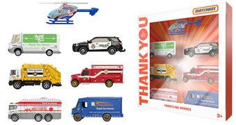 """Matchbox """"Thank You Heroes"""" com Veículos em Homenagem aos Heróis Modernos da Pandemia"""