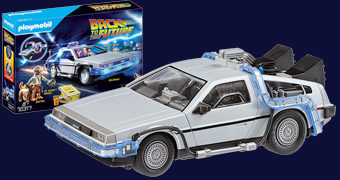 Playmobil DeLorean DMC-12 De Volta para o Futuro (Back to the Future)